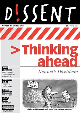 Dissent                       Issue 39 - Spring 2012